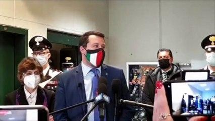 """Matteo Salvini a giudizio per la Open Arms: """"Decisione dal sapore politico"""""""