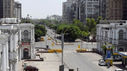 Weekend Curfew in Delhi: Ground report from Connaught Place