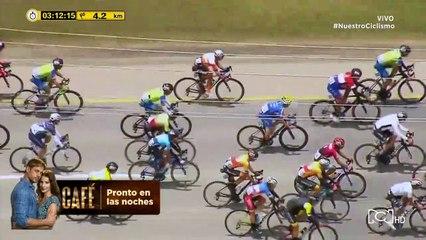 Vuelta a Colombia: etapa 2, últimos 5 kilómetros