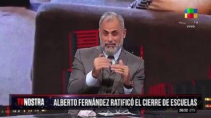 Jorge Rial sin barbijo al aire despertó la crítica de su esposa Romina Pereiro