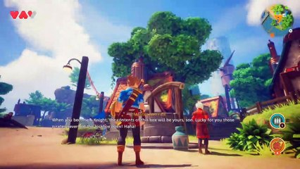 Oceanhorn 2 - Knights of the Lost Realm Walkthrough Part 1 (Switch)