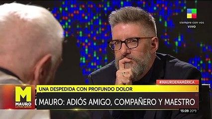 Así recordaron a Mauro Viale en su programa