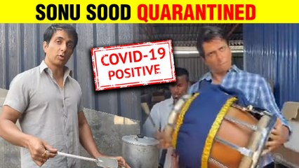 After His Viral Video With Fans Sonu Sood Tests Covid - 19 Positive