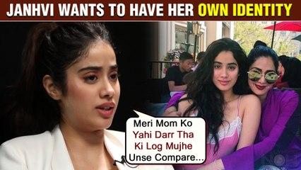 Janhvi Kapoor Reveals Sridevi Was Worried About Comparisons Between Them