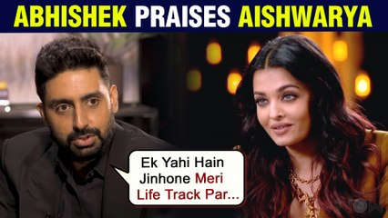 Abhishek Bachchan Reveals How Aishwarya Helped Him Put His Life Into Focus | Calls Her Sensible