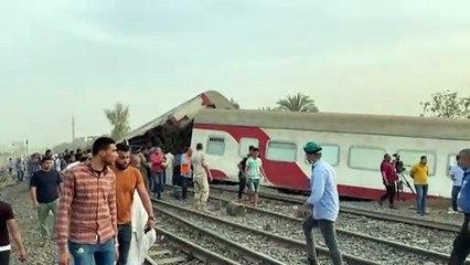 Egitto, almeno 11 morti e 100 feriti per un incidente ferroviario