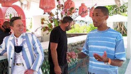 Pharrell Williams nous fait visiter son hôtel à Miami
