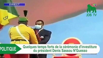 Brazza : Les  temps forts  de l'investiture de Sassou Nguesso