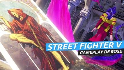 Street Fighter V Champion Edition Rose - Gameplay del nuevo personaje DLC