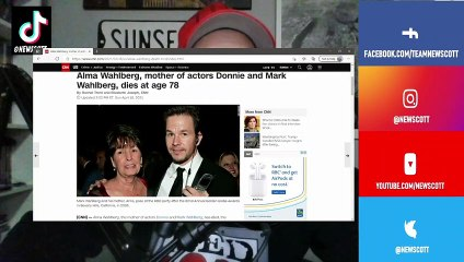 Mark Wahlberg's Mom, Alma Wahlberg dies at age 78, No cause of death reported yet