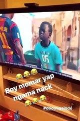 Doomi Gaindé : Raillé par le petit Momar, Idrissa Gana Gueye réagit sur Instagram