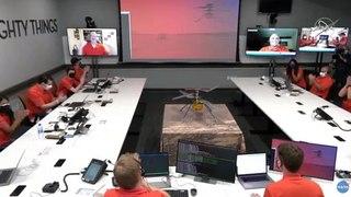 El helicóptero Ingenuity vuela con éxito en Marte