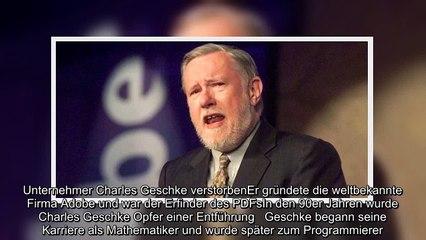 ✅ Adobe Photoshop und PDF erfunden - Charles Geschke ist tot