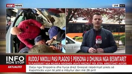 Dalin pamjet, momenti kur autori i sulmit në xhami goditet nga qytetarët dhe arrestohet nga policia