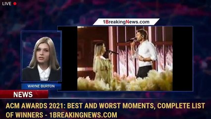 ACM Awards 2021: Best and worst moments, complete list of winners - 1BreakingNews.com