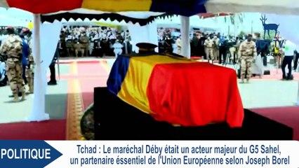 DEBY était un partenaire essentiel de l'Union Européenne (JOSEPH BOREL)