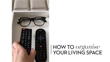 How to organise your Living Space
