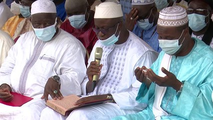 Prières et bénédictions au 7ème jour du décès du Cheikh Aïma Mamadou Traoré