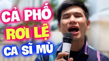 Cả phố kinh ngạc khi nghe Xuân Hòa hát liên khúc Chiều Sân Ga - Bolero Ca Sĩ Mù Hát Rong Đường Phố