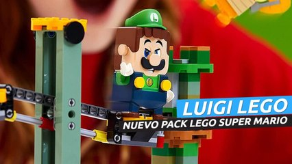 LEGO Super Mario - Tráiler del nuevo Pack de Luigi