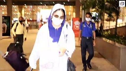 Hina Khan Emotional Arrival In Mumbai For Fathers Funeral, To Perform Salat al-Janazah...
