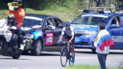 Vuelta a Colombia etapa 4, último kilómetro