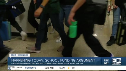 Prop 208: School funding argument to be heard Tuesday