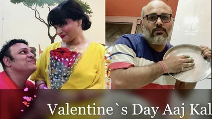 Valentine`s Day Aaj Kal  Lock Down Series   Comedy   Ep 22   Good Times Pictures
