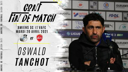 Conférence d'après match ASC - VAFC : Oswald Tanchot