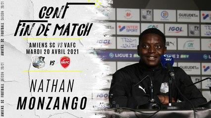 Conférence d'après match ASC - VAFC : Nathan Monzango