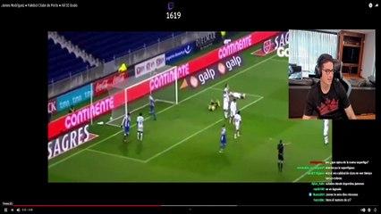 James y su primer gol en Porto