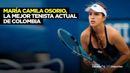 María Camila Osorio, la mejor tenista actual de Colombia