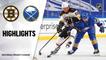 Bruins @ Sabres 4/20/21 | NHL Highlights