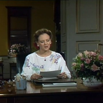 KLIP | Dronningens nytårstale | 31 December 1983 | Bonanza - Danmarks Radio