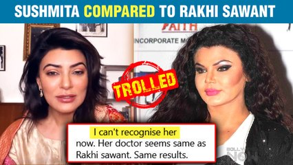Netizens Compare Former Miss Universe Sushmita Sen With Rakhi Sawant ; Know Why?