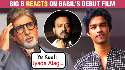 Amitabh Bachchan Has This To Say About Irrfan Khan's Son Babil's Debut Film Qala