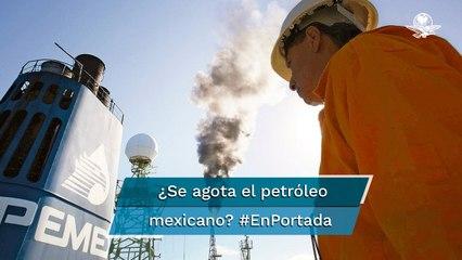 Reservas petroleras bajan al inicio de 2021, reporta la CNH #EnPortada