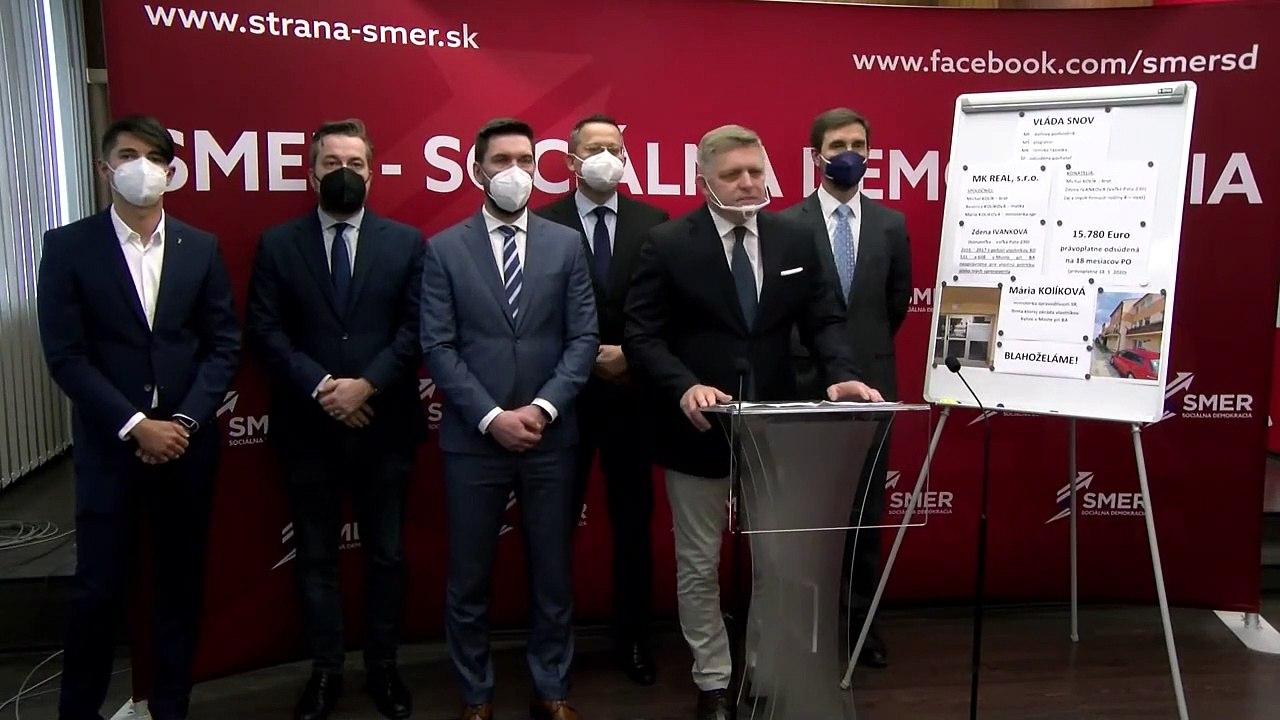 ZÁZNAM: TK strany Smer-SD