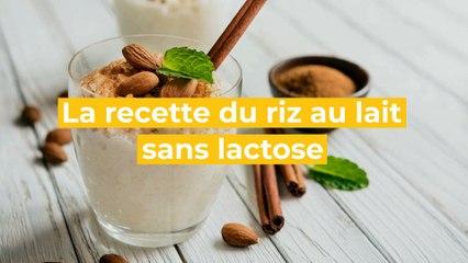 La recette du riz au lait sans lactose