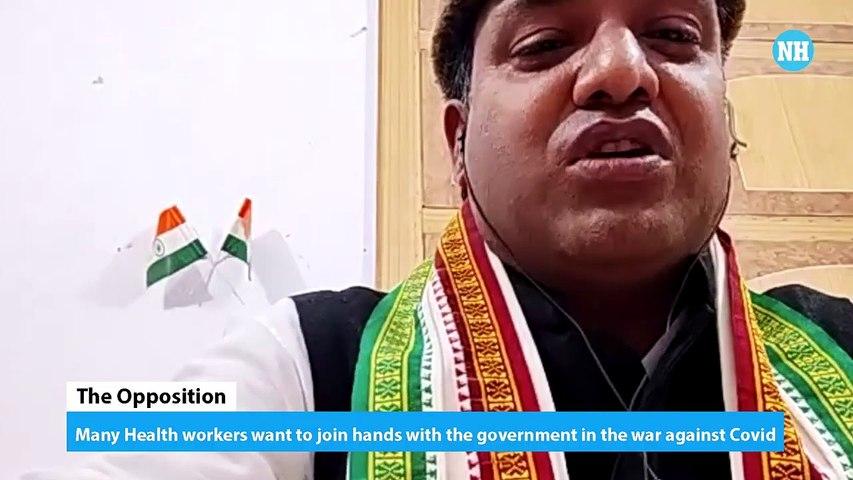 Shahnawaz Alam on Covid emergency in Uttar Pradesh