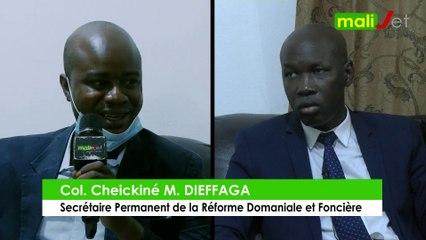 Interview exclusive de Colonel Cheickiné M. Dieffaga, Secrétaire Permanent de la Réforme Domaniale et Foncière - Bamanankan
