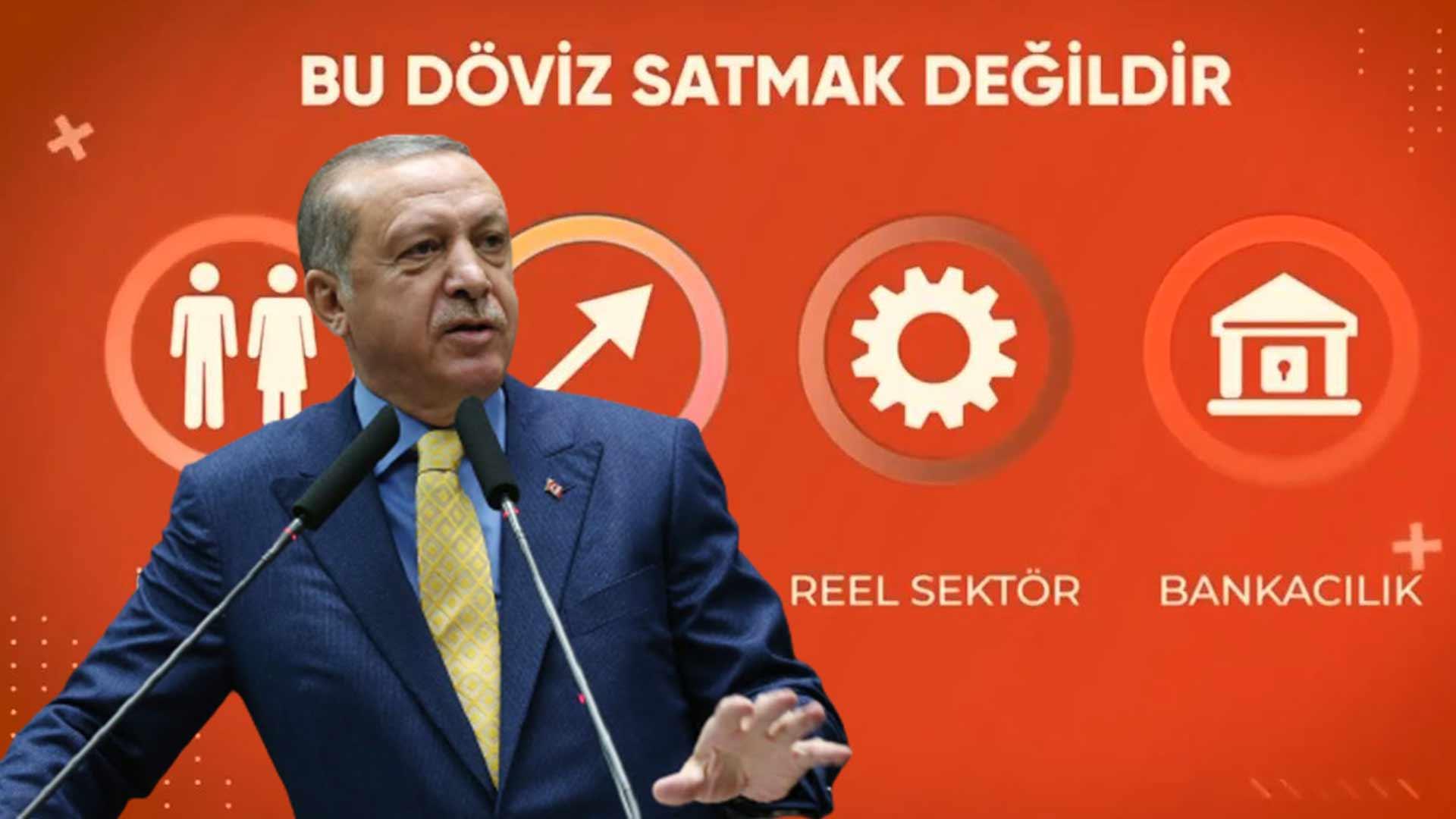 AKP'den '128 milyar dolar' videosu: Ödemeler dengesinin devamlılığını sağlamak döviz satmak değil; Türkiye Cumhuriyeti vatandaşlarının tek kuruşu kaybolmamıştır
