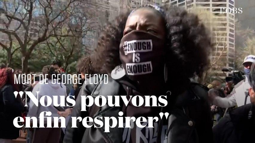 George Floyd : l'émotion après le verdict qui reconnait Derek Chauvin coupable de meurtre
