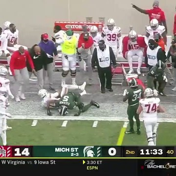 #4 Ohio State Vs Michigan State Highlights | College Football Week 14 | 2020 College Football
