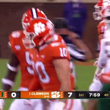 Miami Hurricanes Vs. Clemson Tigers | 2020 College Football Highlights