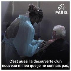 Aurélie, agent de la Ville de Paris, volontaire dans le centre de vaccination Paris Centre