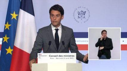 Covid-19 en France : fin de l'attestation le 3 mai, «une première étape de réouverture» mi-mai