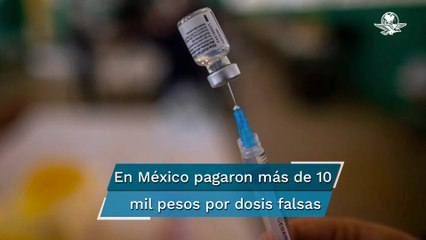Pfizer confisca vacunas falsas contra el Covid-19 en México y Polonia: WSJ