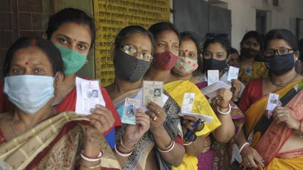 Bengal: 6th phase of polling amidst corona guidelines