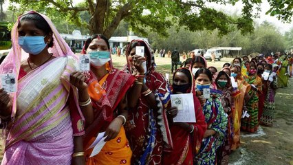 6th round of voting continues in Bengal amidst corona threat
